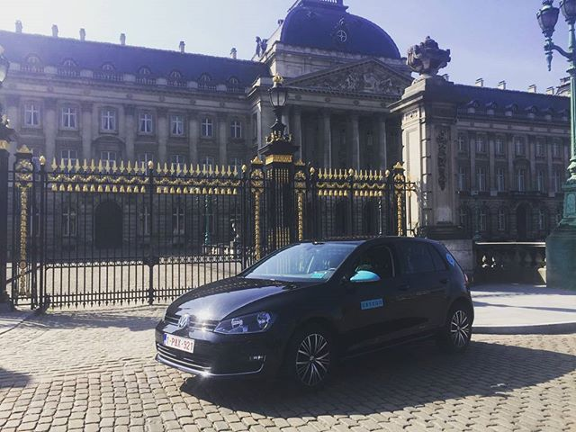 Ubeeqo car in Brussels